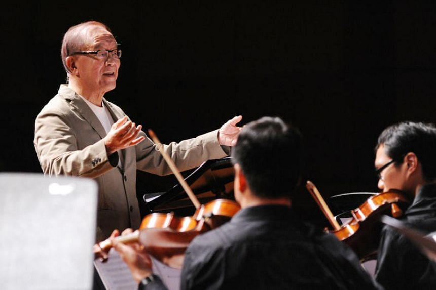 Musician, composer and conductor Lee Yuk Chuan, one of the winners of the Singapore Chinese Cultural Contribution Award.
