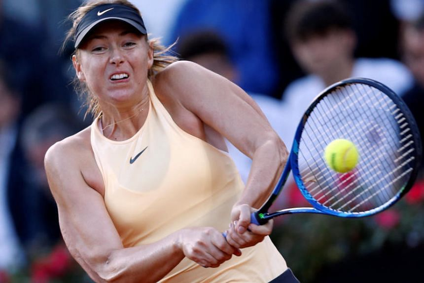 Maria Sharapova's straight-sets win over Daria Gavrilova booked her a quarter-final berth at the Italian Open which should give her a seeding for the French Open.
