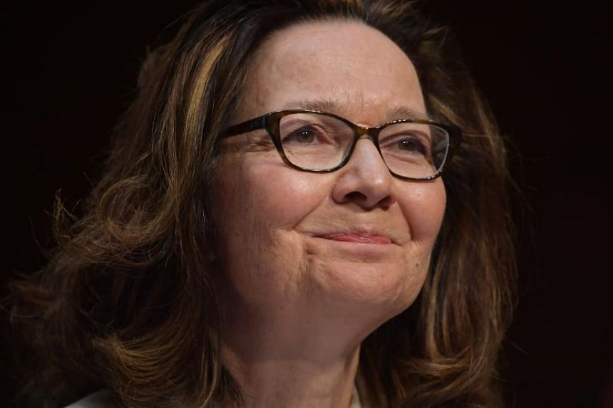 Gina Haspel testifies before the Senate Intelligence Committee on her nomination to be the next CIA director in the Hart Senate Office Building on Capitol Hill in Washington, DC on May 9, 2018.