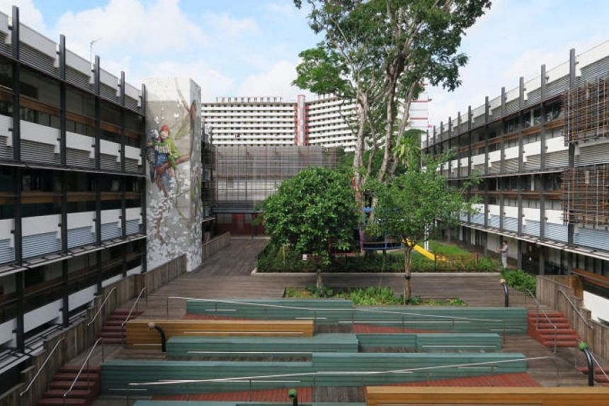 The Enabling Village in Bukit Merah, an inclusive community space that brings together people of different abilities.