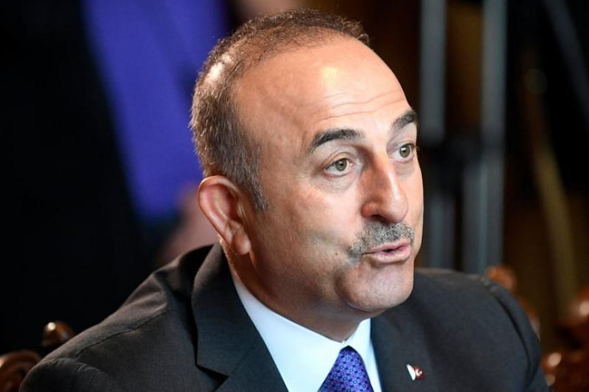 """Turkey's foreign minister Mevlut Cavusoglu said they """"must prevent other countries from following the US example""""."""