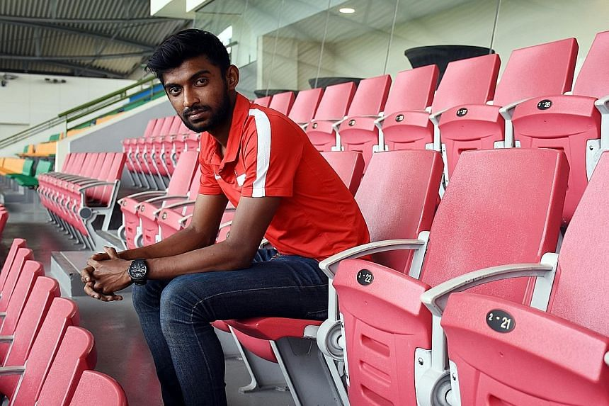 The last time Hanafi Akbar represented Singapore was at the 2017 SEA Games, when the Republic's Under-23 team were eliminated at the group stage in Kuala Lumpur.