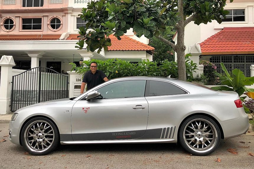 Mr Baha Walid bought the Audi S5 in 2011 and it has since clocked about 100,000km.