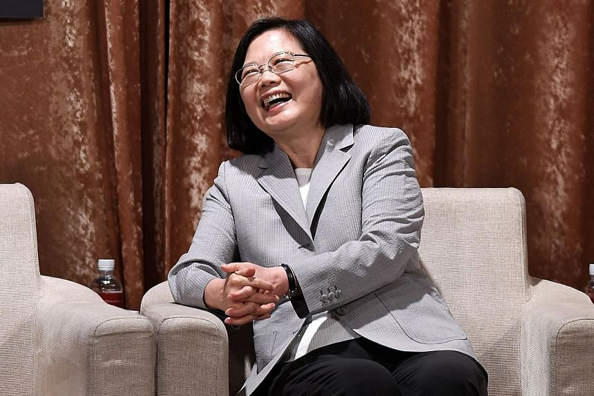 Taiwanese President Tsai Ing-wen reaches the halfway mark in her first term tomorrow. A recent poll by TVBS put her approval rating as low as 26 per cent, though other surveys found it to be over 50 per cent.
