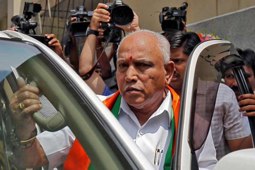 Chief Minister of Karnataka B.S. Yeddyurappa stepped down after just two days in the post.