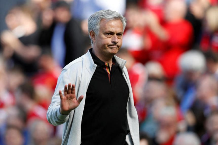 """Jose Mourinho was branded a """"Judas"""" by Chelsea supporters who sang """"you're not special any more"""" after joining their rivals Manchester United."""