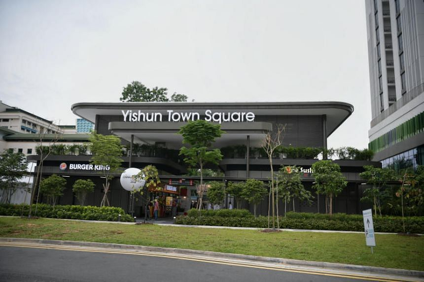 The new Yishun Town Square is the third new-generation town plaza in Singapore, after two others in Bedok and Punggol.