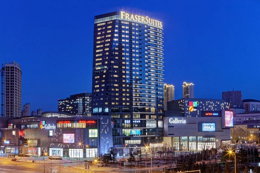 Fraser Suites in Dalian, China. Frasers Property Group officially opened its 16th Fraser Suites serviced apartment in Dalian as part of plans to double its properties under this brand across China.