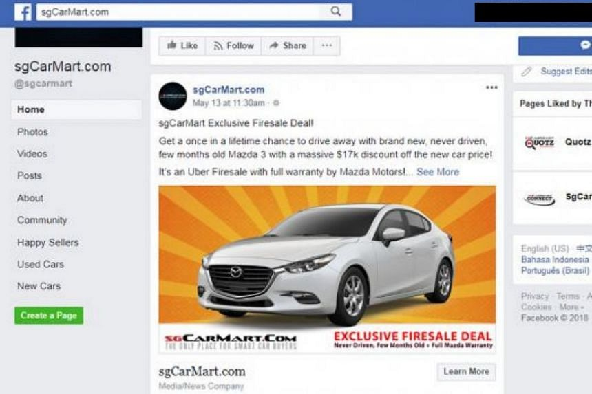 Some of the unhired Lion City Rentals cars - mainly Mazda 3 sedans and Honda Vezel crossovers - are being advertised for sale on car retail portal SgCarMart at relatively low prices.