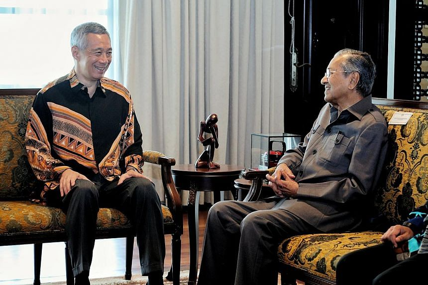 Prime Minister Lee Hsien Loong, who met Tun Dr Mahathir Mohamad in Putrajaya yesterday, described their meeting as warm and fruitful.
