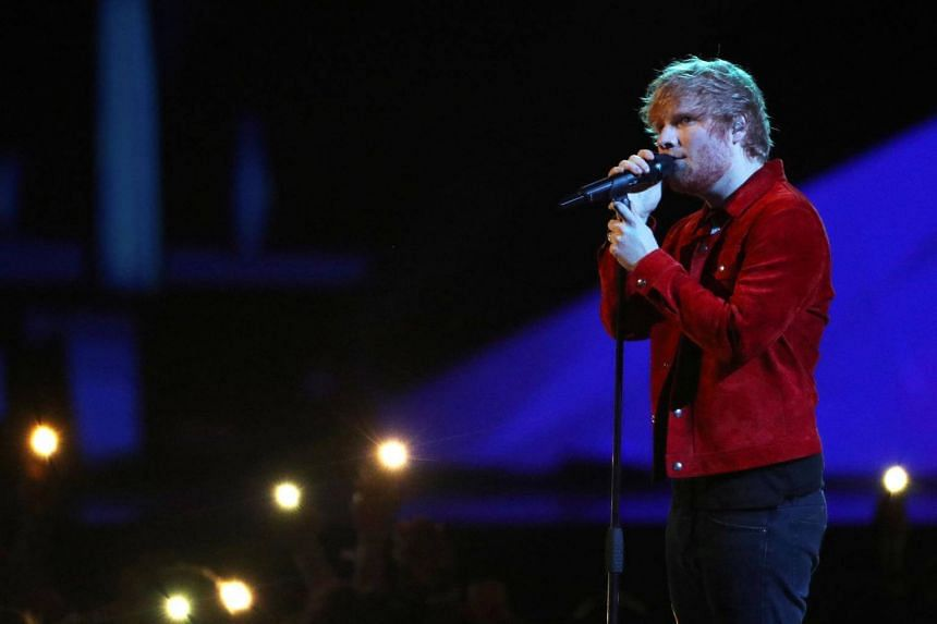 Ed Sheeran's song Small Bump was said to have been used by anti-abortion activists campaigning in Dublin's city centre.