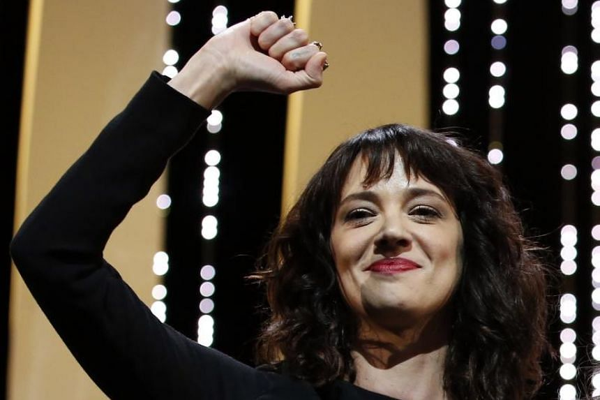 Italian actress Asia Argento, one of the women quoted in Ronan Farrow's New Yorker article in October, said Weinstein raped her during the Cannes festival in 1997 when she was 21.