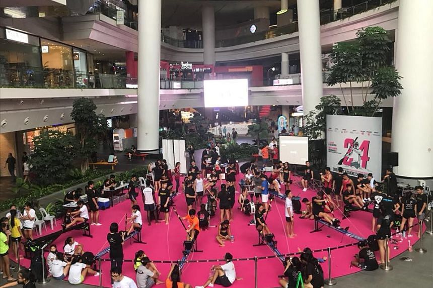 More than 500 participants raised more than $58,000 for the Muscular Dystrophy Association, Singapore, in a 24-hour kayaking challenge.