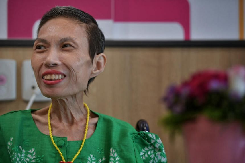 Former nurse Katherine Yue was warded at Assisi Hospice last month, and held a private concert as a farewell gift for friends, family and staff.