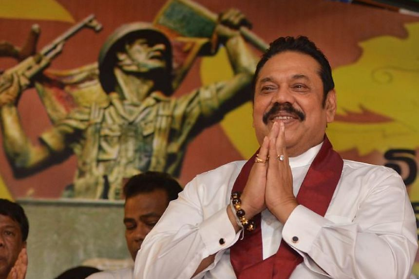 Sri Lanka's finance ministry is warning the country is heading for a debt crisis, mostly because of loans for extravagant projects under former president Mahinda Rajapakse (pictured).