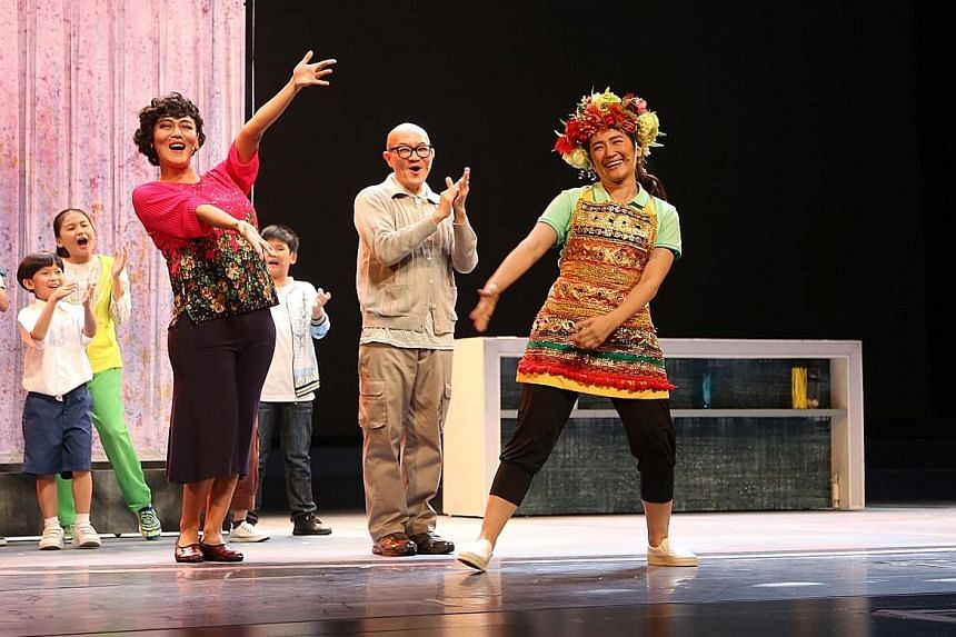 Taiwanese aboriginal singer-actress Luo Mei-ling (right) shines as Eny, an Indonesian helper who joins a three-generation family.