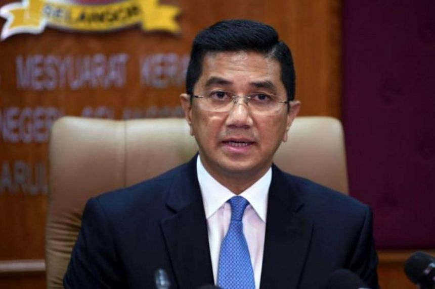 Datuk Seri Azmin Ali will relinquish his position as soon as the new Mentri Besar is appointed.