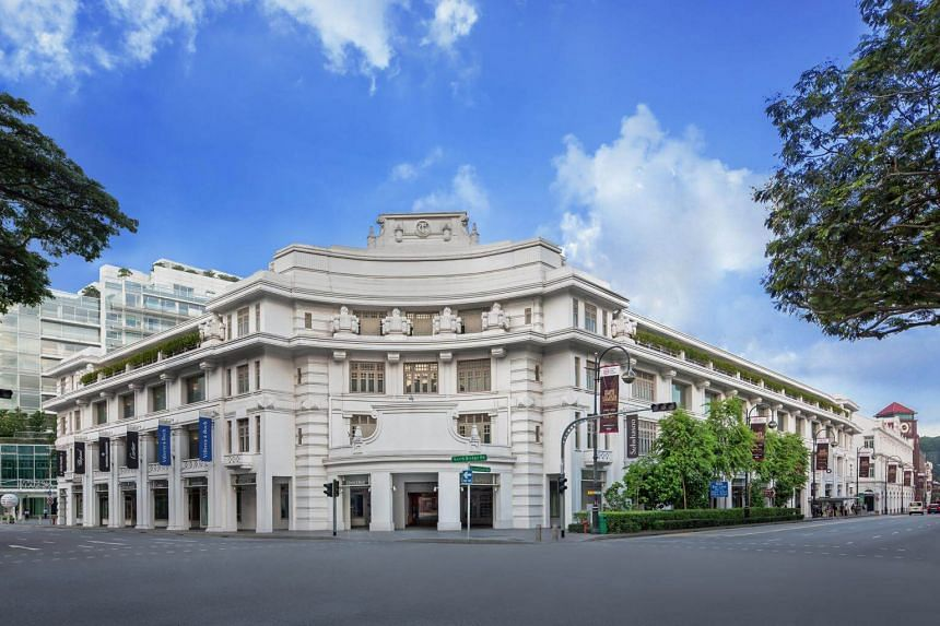 The Capitol Kempinski Hotel Singapore's full range of services will be made available in phases towards the end of 2018.