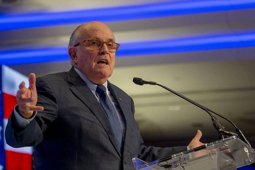 US President Donald Trump's lawyer Rudy Giuliani (pictured) urged that the investigation be wrapped up as soon as possible.