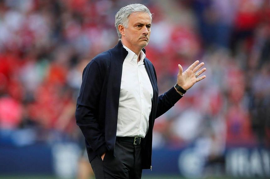 Manchester United manager Jose Mourinho before the FA Cup Final match between Chelsea and Manchester United at Wembley Stadium, on May 19, 2018.