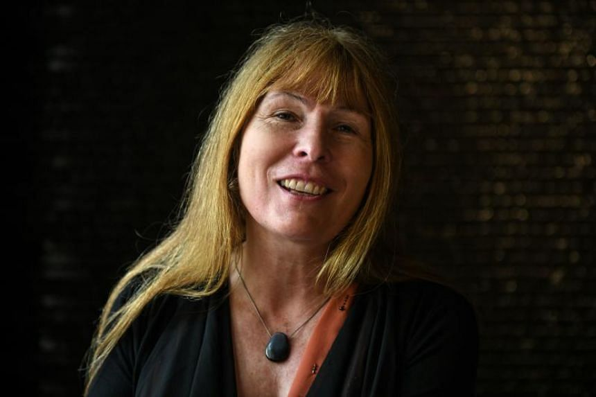 British journalist Clare Rewcastle Brown speaks during an interview with AFP in Kuala Lumpur on May 20, 2018.