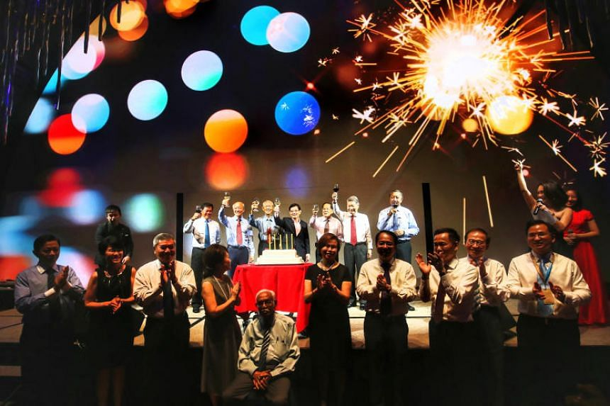 A new non-profit IT cloud service company called iShine Cloud was announced at the Singapore Pools' golden jubilee celebration at JW Marriott Hotel on May 21, 2018.