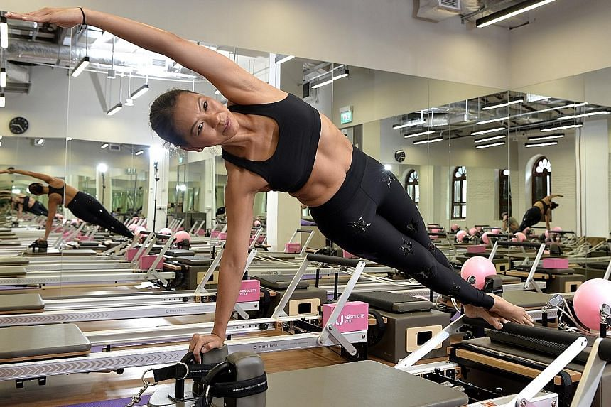 Absolute You chief executive Benjaporn Karoonkornsakul does pilates, swims and plays tennis. Her goal is to feel like she is 40 when she is 60.