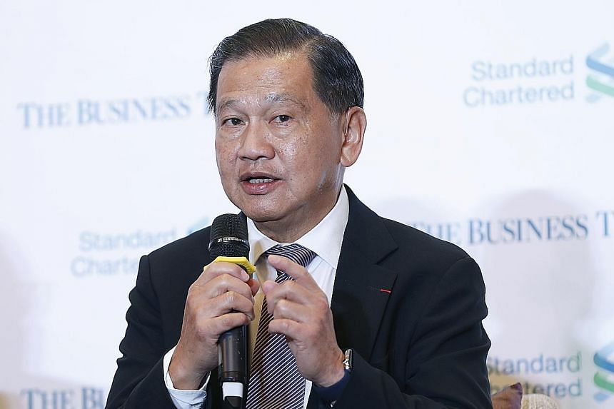Changi Airport Group chairman Liew Mun Leong says poor infrastructure is hindering the region's global connectivity.