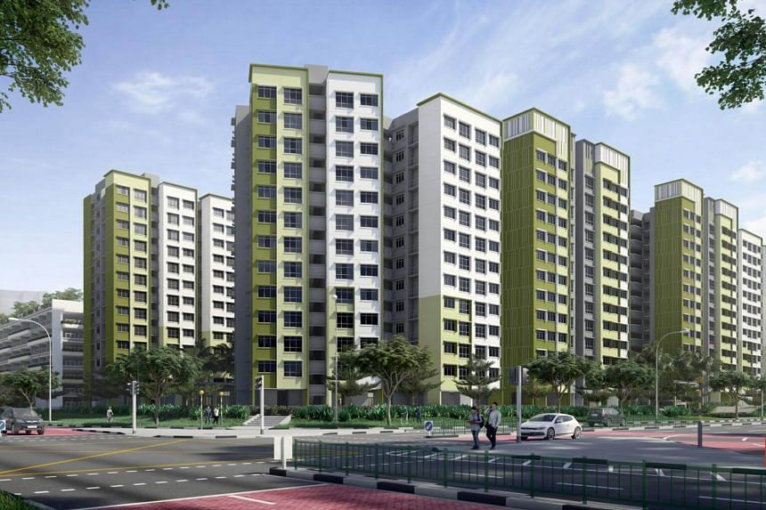 An artist's illustration of Casa Spring in Yishun, one of the Build-to-Order project launches in May.