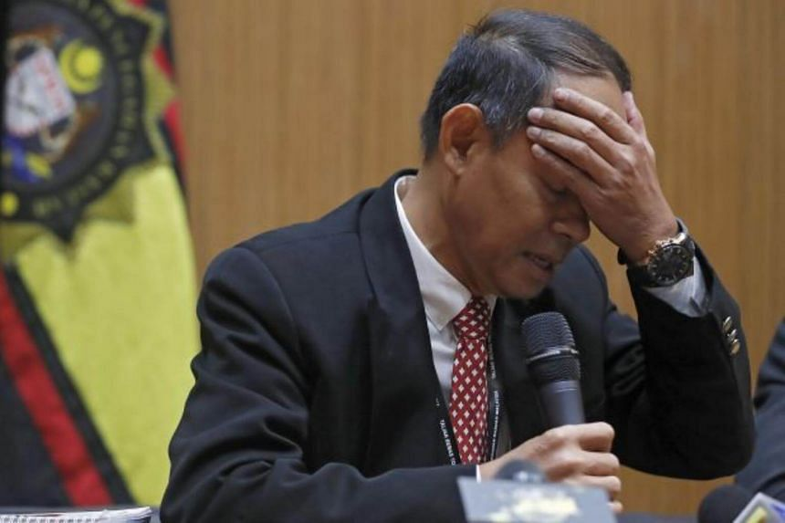 Malaysia's anti-graft agency chief Mohd Shukri Abdull (pictured) was speaking after ousted Prime Minister Najib Razak arrived at the headquarters of the Malaysian Anti-Corruption Commission on May 22, 2018.