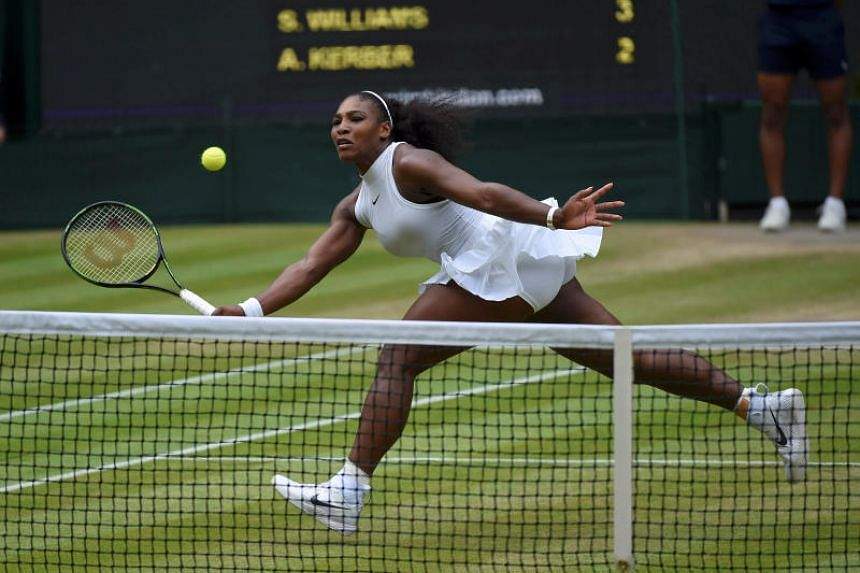 Serena Williams, who has won 23 Grand Slam singles titles, is world ranked a lowly 453rd having returned this year from having a baby.
