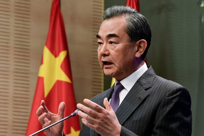 Chinese Foreign Minister Wang Yi will discuss issues concerning both the US and China with US ranking officials in Washington.