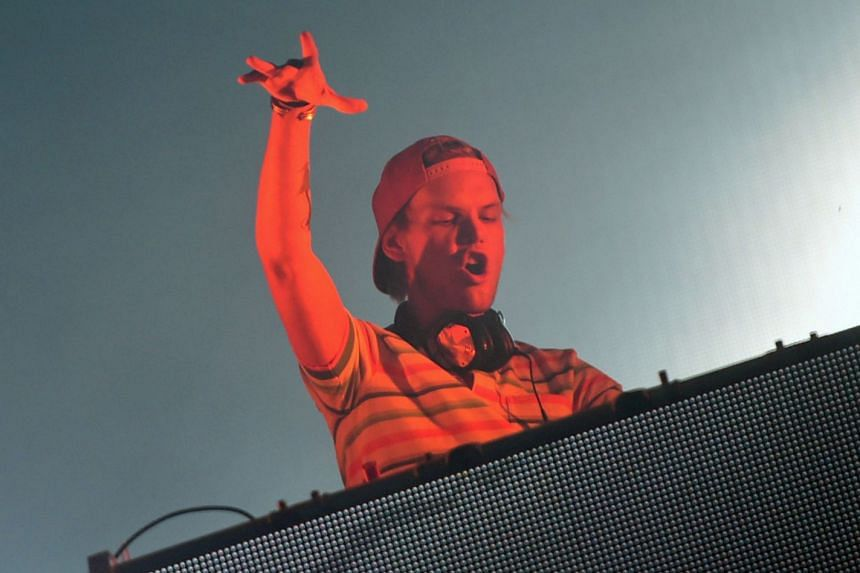 Avicii performing at the Sziget music festival in Hungary in 2015.