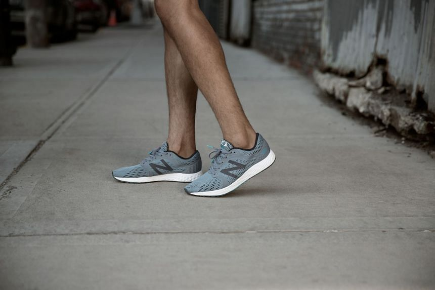 The New Balance Fresh Foam Zante boasts a sleek silhouette and midsole cushioning for a supportive ride.