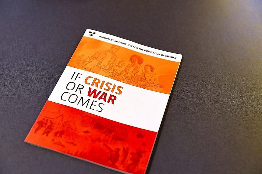 "The Swedish Civil Contingencies Agency's new handbook ""If Crisis or War Comes""."