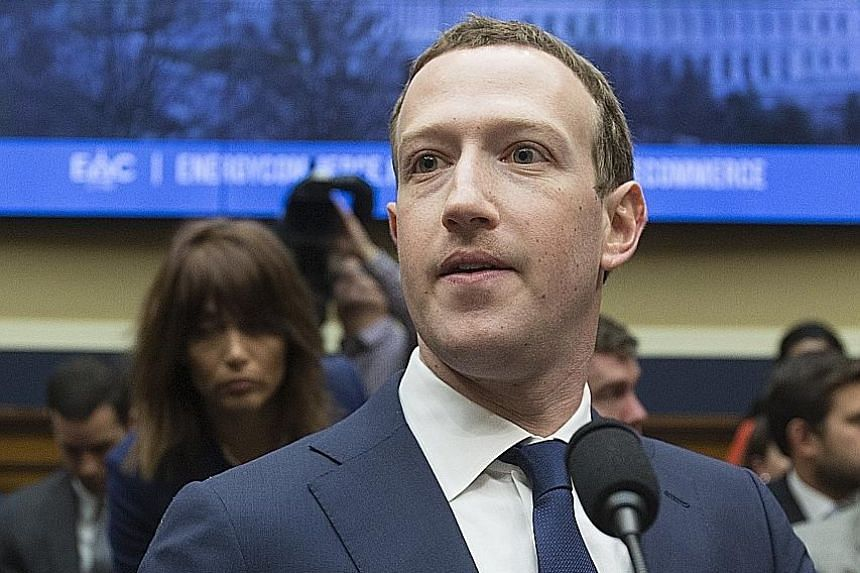 Facebook CEO Mark Zuckerberg preparing to testify before the House Energy and Commerce Committee last month. At yesterday's meeting with leaders of the European Parliament, he was to answer questions on how the data of Facebook users fell into the ha