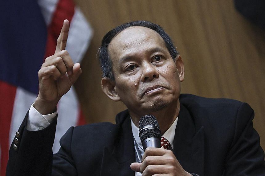 MALAYSIAN ANTI-CORRUPTION COMMISSION CHIEF MOHD SHUKRI ABDULL