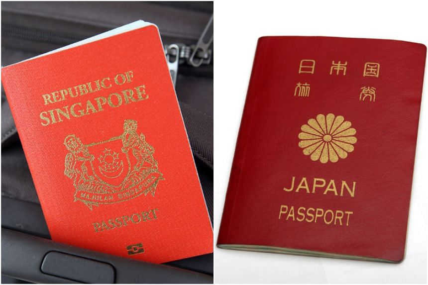 The Japanese passport now offers its citizens visa-free or visa-on-arrival access to a record 189 destinations. The Singapore passport is in second place, with a total of 188 destinations accessible without a prior visa.