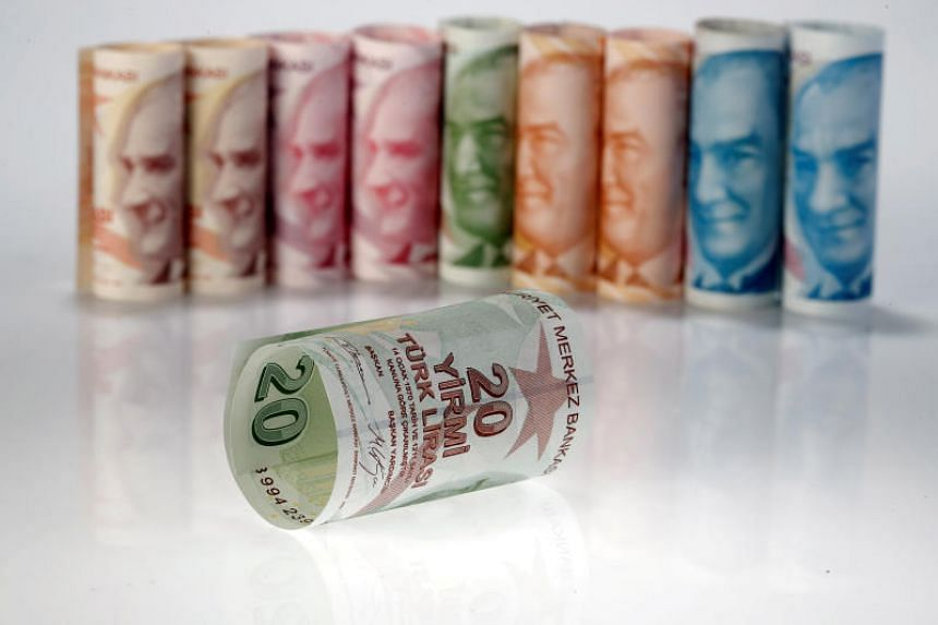 Turkey's lira hit fresh all-time lows versus the US dollar, the euro and the yen on May 23, 2018, amid a lack of policy maker action to fight Turkey's economic woes.