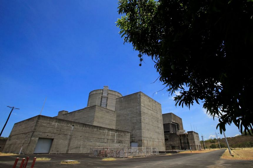 The Bataan Nuclear Power Plant (BNPP) is seen during a tour around the BNPP compound in Morong town, Bataan province, north of Manila, Philippines, on May 11, 2018.