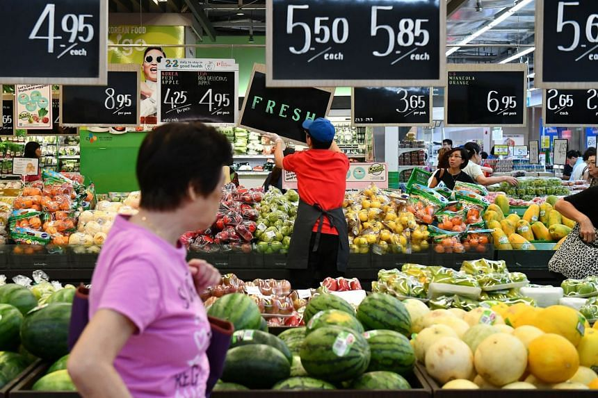 Food inflation was stable at 1.4 per cent in April, as a faster pace of increase in the cost of prepared meals was offset by a smaller increase in the prices of non-cooked food items.