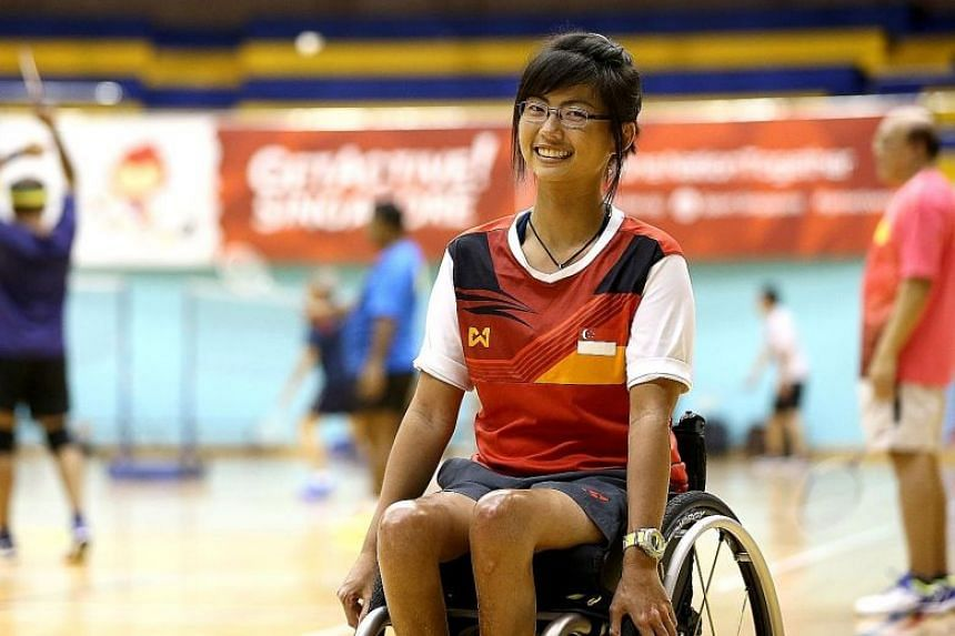 Yap Qian Yin, 27, was diagnosed with leukaemia when she was four. She was fine until a relapse at 17 left her paralysed. Undeterred, she turned to sailing and won a gold medal at the 2015 Asean Para Games.