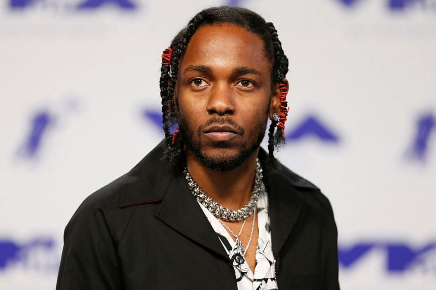 """American music star Kendrick Lamar was upset when one of his fans invited on stage at the Hangout Festival in Alabama rapped the """"n-word"""" from his 2012 hit M.A.A.D City."""