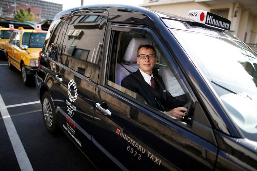 Austrian taxi driver Wolfgang Loeger, who has lived in Japan for over 30 years, can speak Japanese fluently and said he causes a stir when customers get into the taxi and see a foreigner in the driving seat.