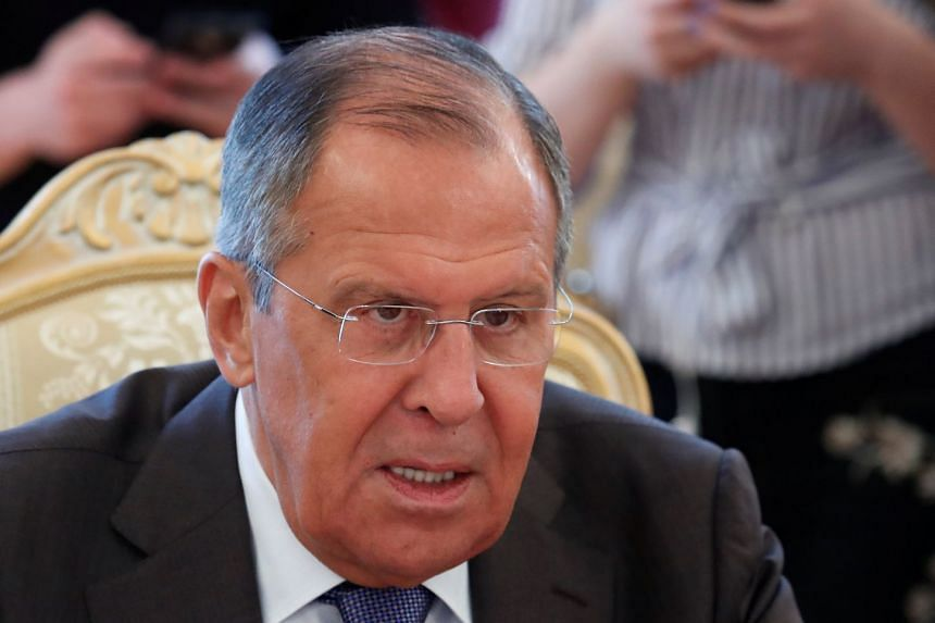 The RBC news portal wrote that Lavrov (above) would travel to North Korea on May 31.