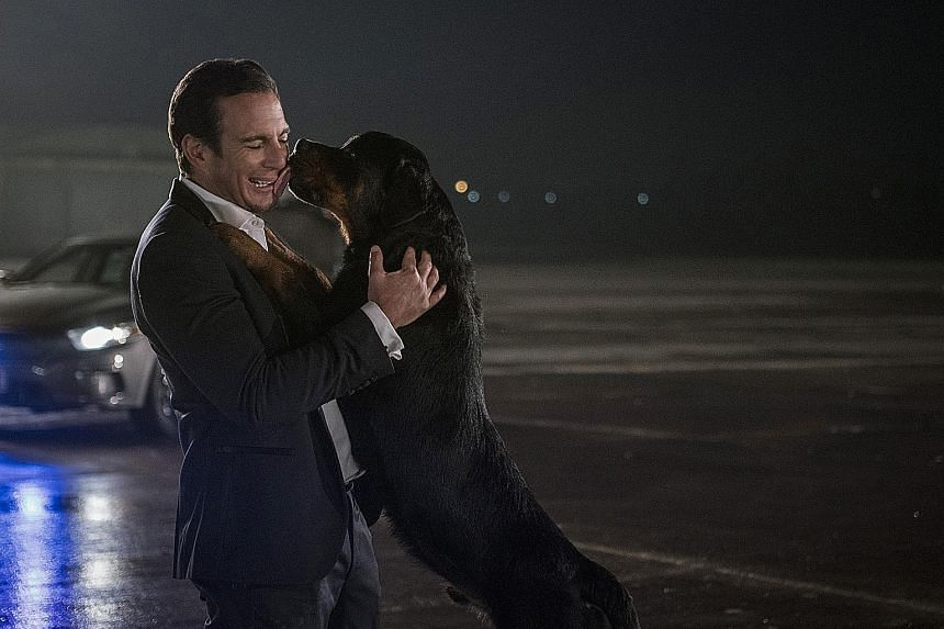 Show Dogs stars Will Arnett and Ludacris as the voice of Max, the police dog.