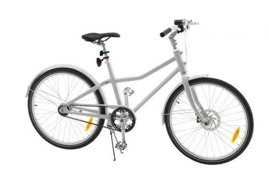The Sladda bicycle, which first hit the shelves in 26 markets in August 2016, was part of Ikea's move to create sustainable urban transportation solutions, Ikea Singapore said.