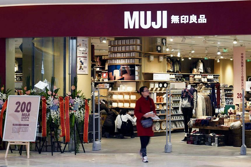 A Muji store at a shopping mall in Hangzhou, China. This marks the second time Muji has been hit by such criticism from China this year.