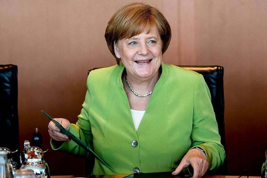 German Chancellor Angela Merkel will head to China on May 24, 2018.