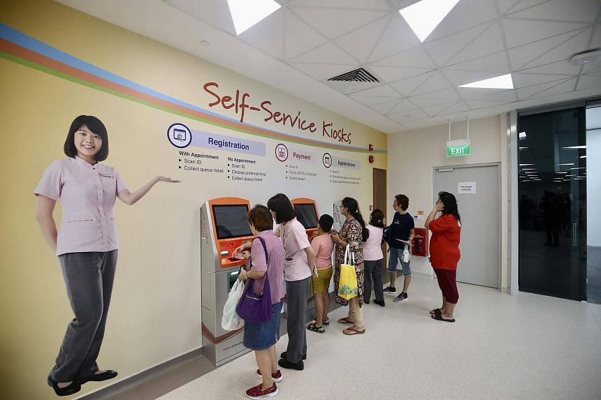 Punggol Polyclinic, which begun operating last year, features a host of new facilities and services for the community. This includes an automated pharmacy, which makes use of robot technology to help distribute medications to patients more quickly an